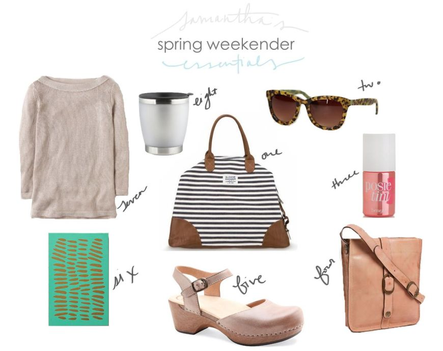 Spring Weekender Essentials